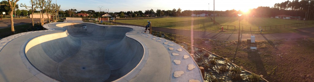 bowl skate park