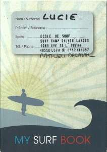 My surf book