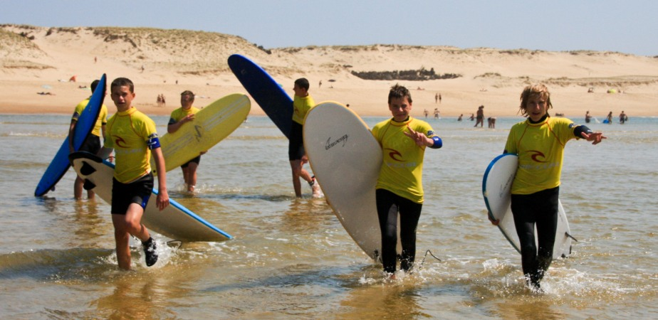 groupe surf ados